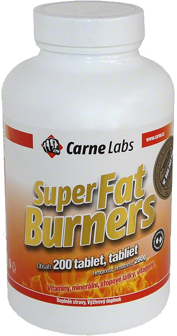 Super fat burners 200 tablet CarneLabs